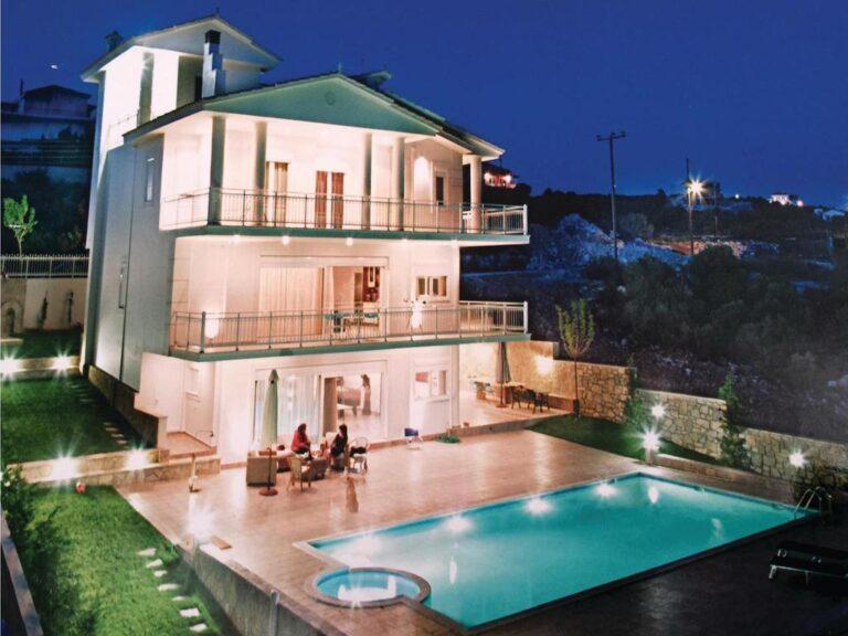 Ενοικιαζόμενο Σπίτι Διακοπών με Τζακούζι στον Θεολόγο Φθιώτιδας